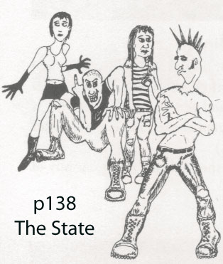 the states punk rockers