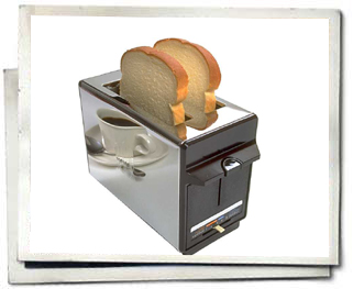 No one take pictures with their toaster, scofff